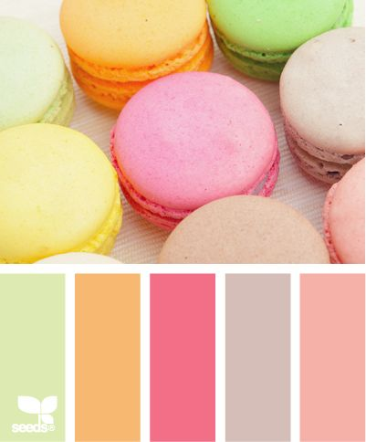macaron hues: Colorpalettes, Color Palettes, Color Inspiration, Design Seeds, Color Schemes, Macaron Hues, Colour Palettes