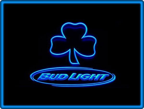 Bud Light Beer Bar Pub Restaurant Neon Light Sign