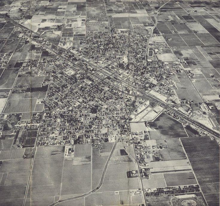 California Map Hwy 99%0A      Aerial  Selma California
