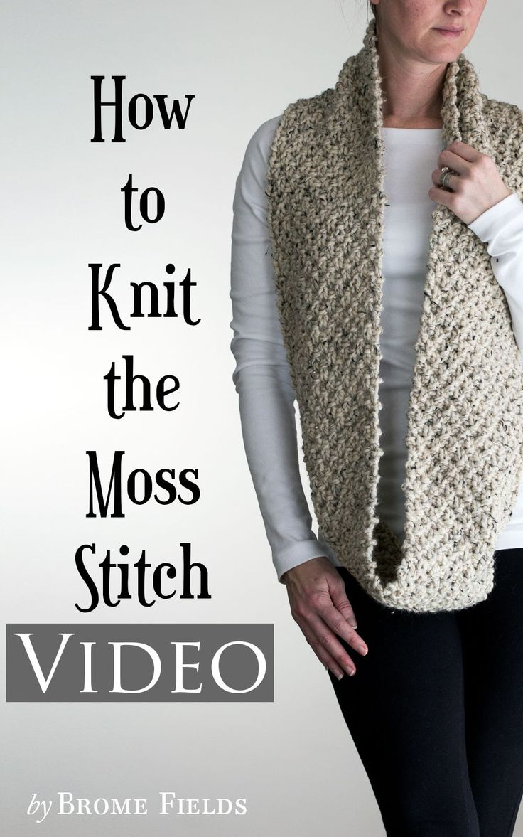 Learn how to knit this super simple, classic stitch.