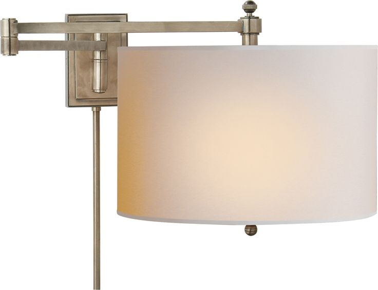 HUDSON REVERSIBLE SWING ARM Circa  sc 1 st  Pinterest & 226 best Lighting images on Pinterest | Lighting ideas Spaces and ... azcodes.com