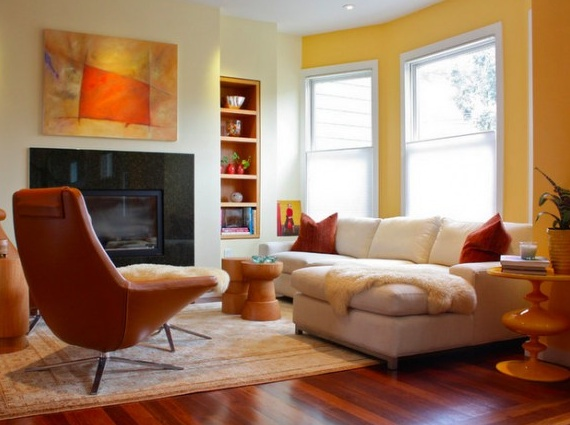 17 Best Images About Yellow Accent Wall On Pinterest