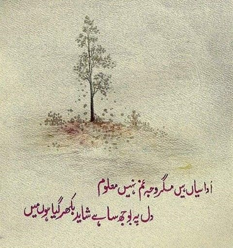 822 Best Urdu Poetry Images On Pinterest
