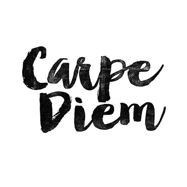 Typography - Carpe Diem