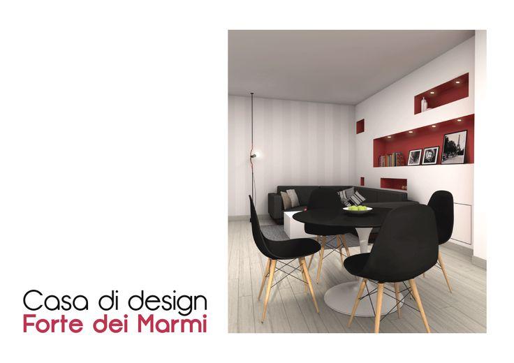 Spazio 14 10 -- Design :: Casa a Forte dei Marmi ::: Il progetto prevede il completamento di un appartamento per vacanze di recente realizzazione, e mira a rendere gli ambienti accoglienti e confortevoli.