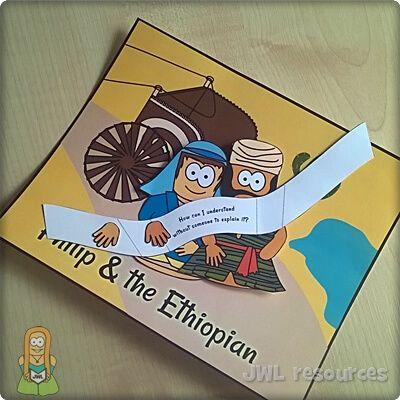 Philip & Ethiopian (Acts 8)   Make