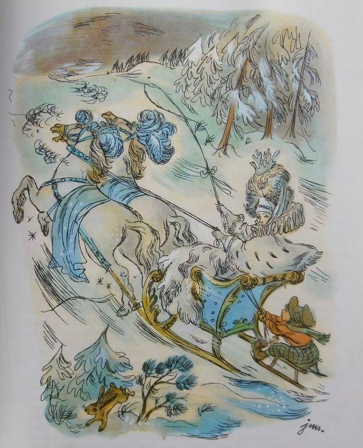 H.Ch. Andersen, Królowa Śniegu, il. Jan Marcin Szancer