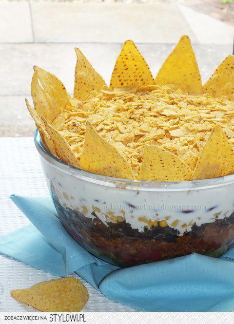Meksykański król imprezy- sałatka z mięsem mielonym Mek…