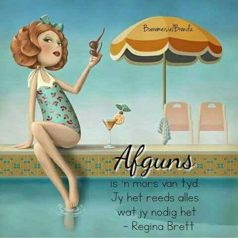 Afguns... #Afrikaans #InANutshell