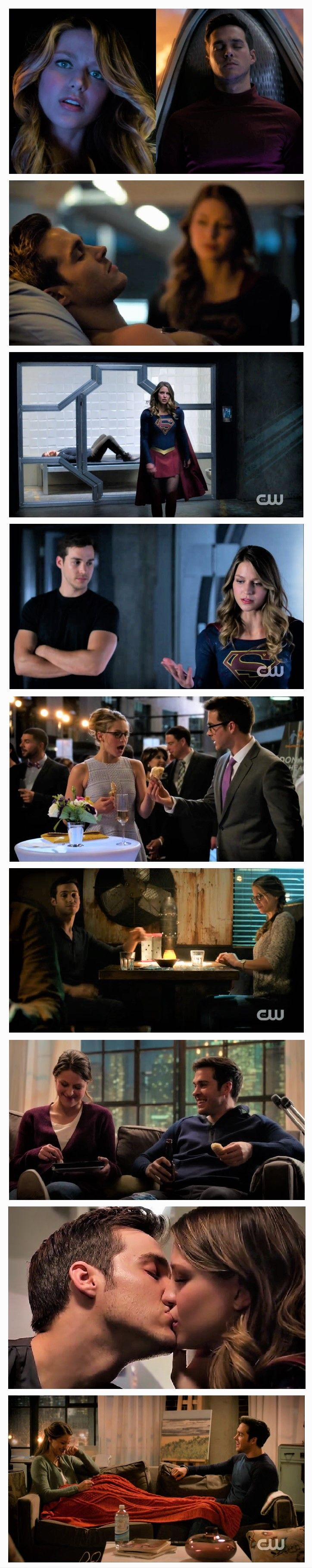 Super long photo edit of Kara and Mon-El from Season 2 (episodes 2x01--2x09). I SO didn't want/need another ship, but the chemistry reeled me in, darn it.  |TV Shows||CW||#Supergirl||#Supergirl edit||Kara Danvers||Mon-El||Kara x Mon-El||#Karamel edit||Cute couples||Melissa Benoist||Chris Wood||Collage|