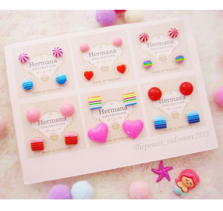 765 best Cute Kids Girls Earrings images on Pinterest | Earring ...