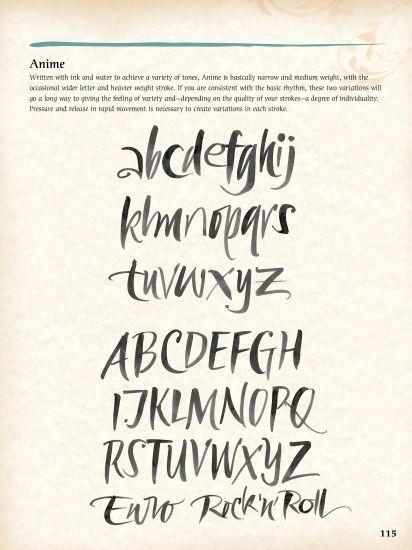 Alphabet calligraphy google search