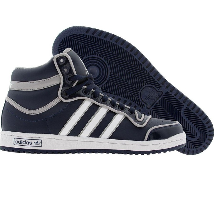 Adidas Top Ten High (college navy / runninwhite / aluminum) G17748 - $74.99