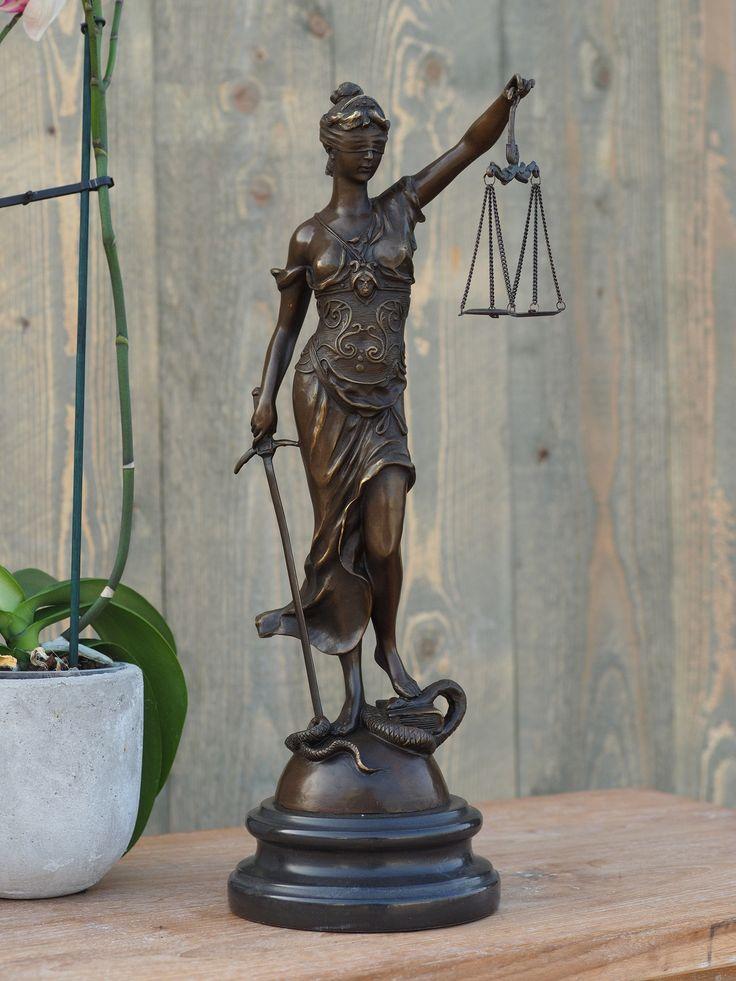 Vrouwe justitia beeld kopen? | GerichteKeuze