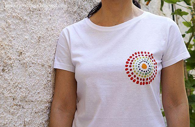 Journey into Creativity: Logotype on t-shirt