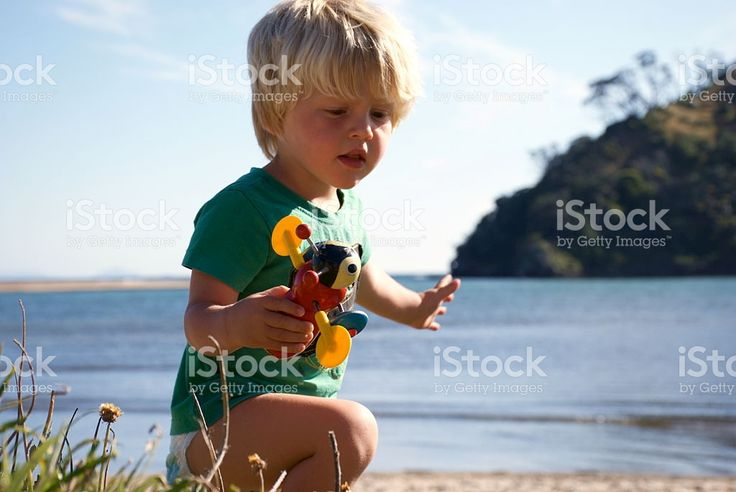 New Zealand Childhood in Summer royalty-free stock photo