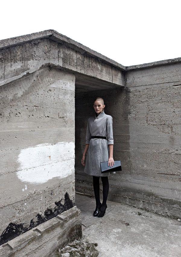 concrete & fashion ♥ | Concrete Genezis by IVANKA from Architizer http://www.architizer.com/en_us/blog/dyn/54785/concrete-genezis-fill-your-closet-with-brutalist-fashions/#.UM2_8299Kf4