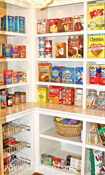 4 rules to a perfectly organized pantry - Closet Pantry Design Ideas