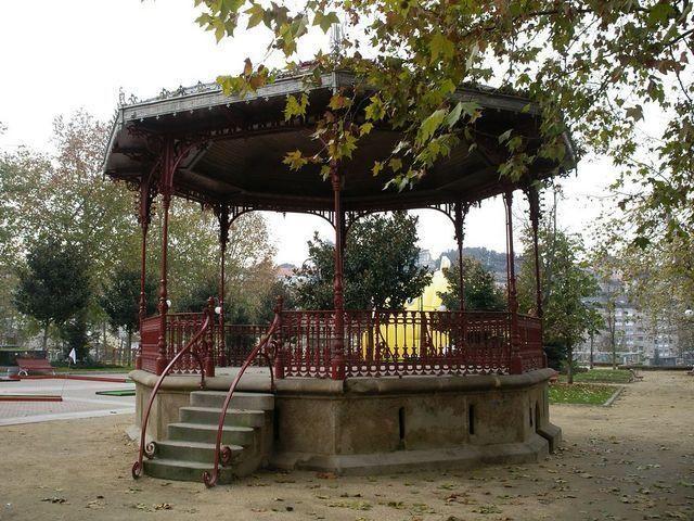 Palco de Música en la Alameda de Ourense