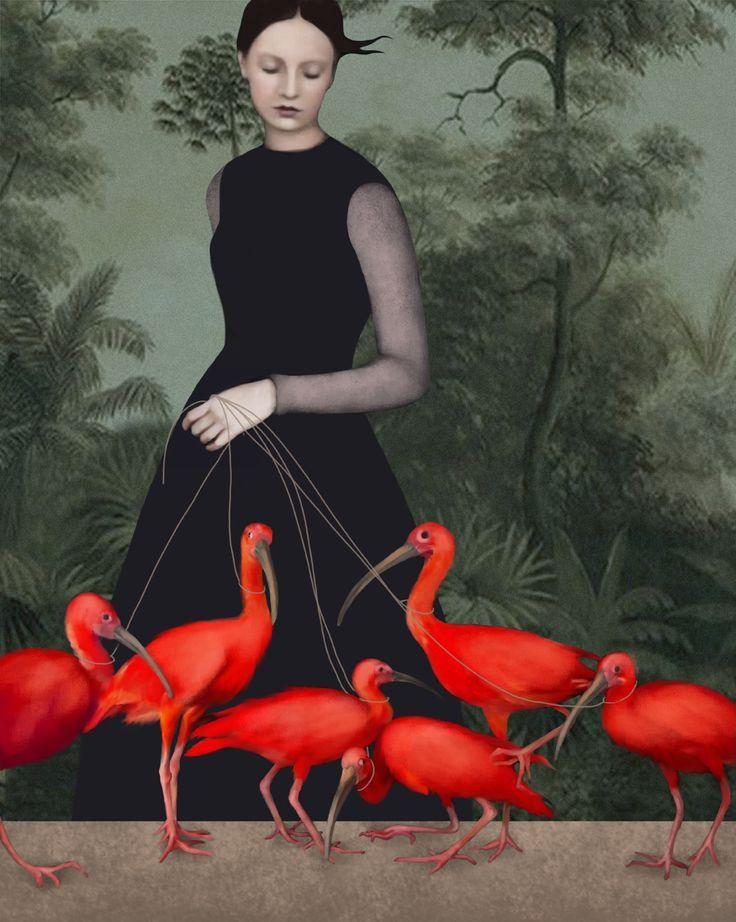 Daria Petrilli  -The lady of the ibis-