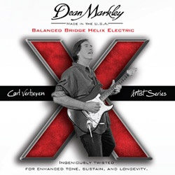 Carl Verheyen Balanced Bridge Helix HD Electric Strings by Dean Markley