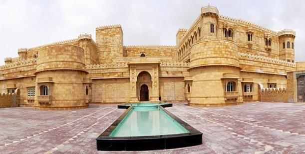 #Suryagarh Palace, Jaisalmer, India joins TripTheEarth @ http://www.triptheearth.com/hotel/India/Jaisalmer/suryagarh