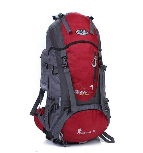 Outdoor professional Climbing Bag Brand men's backpacks 55L capacity travel backpack waterproof sport bag New women backpack