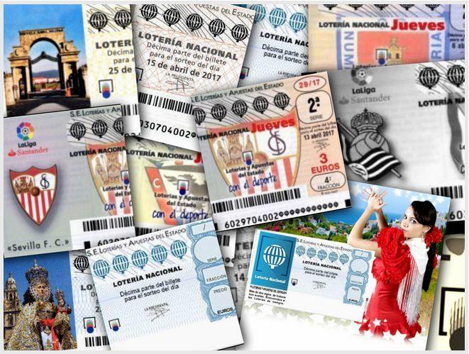 #LoteriaNacionaldeEspaña Listados de sorteos del Jueves, Sorteos del Sabados y Sorteos Especiales ►