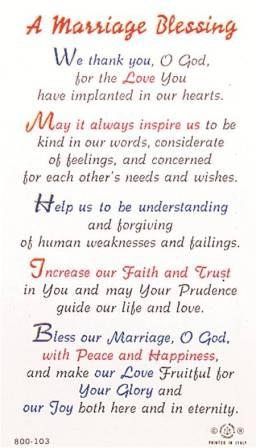 41 best wedding prayer images on pinterest weddings On wedding blessing words