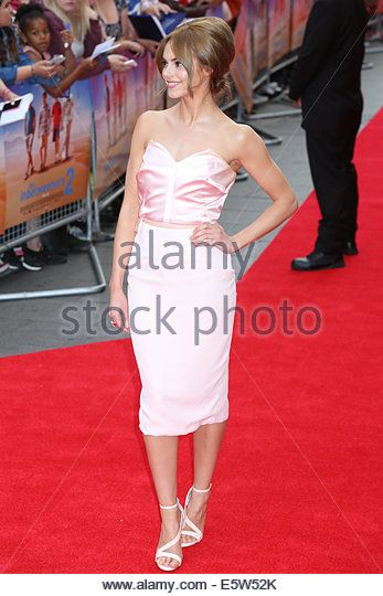 London, UK. 5th Aug, 2014. Hannah Tointon The World Premiere of The Inbetweeners 2 on 05/08/2014 at The VUE Leicester Square, London. Persons pictured: Hannah Tointon Credit:  swift-creative/Alamy Live News Stock Photo