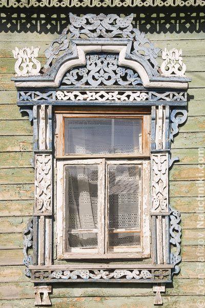 Деревянный наличник Костромы №3