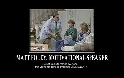 Matt Foley http://www.hulu.com/#!watch/4183