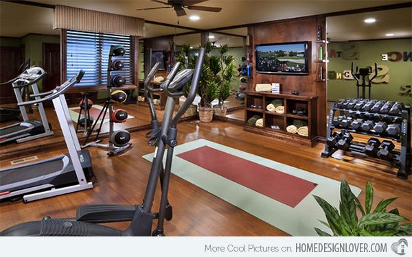Traditional home gym #fitness #gym #workout