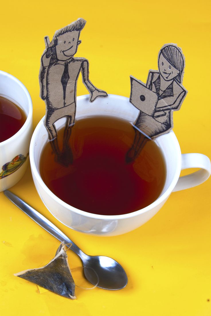 In Ireland there is nothing like a cup of tea and this image from Rachel Fingleton depicts the communications skills of the Irish people