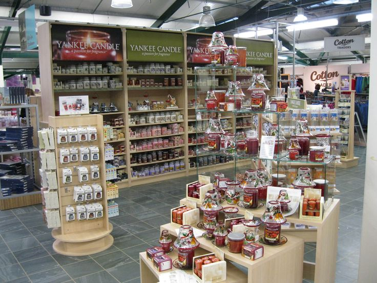 yankee candle display shelf 1