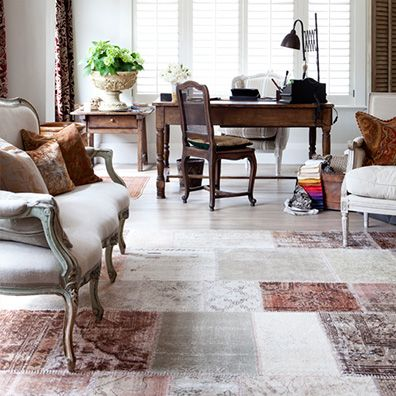 For Interior Designer Irene Crean, this 1928 European-style house in Epsom was a great canvas to add rustic and beautiful antique accents. She was inspired by a bound Bristol Sisal rug, and a unique custom-made Vintage Patchwork.  http://artisanflooring.co.nz/gallery/rustic-european-elegance/