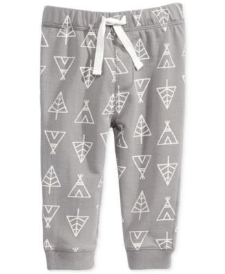 First Impressions Baby Boys' Tent-Print Jogger Pants, Only at Macy's   macys.com