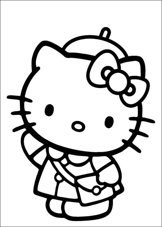 Hello Kitty Coloring Games Hello Kitty To Color For Kids Hello Kitty Kids Coloring Pages Hello Kitty Colouring Pages Hello Kitty Drawing Kitty Coloring