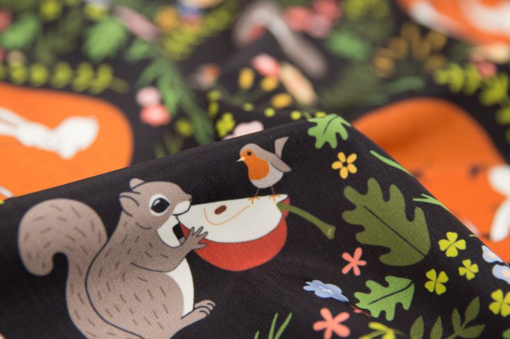 https://flic.kr/p/DxNH5G | Interspecies Animal Friendships Design Challenge Top Ten Winner | Friendship in Wildlife by mia_valdez  www.spoonflower.com/fabric/5049716
