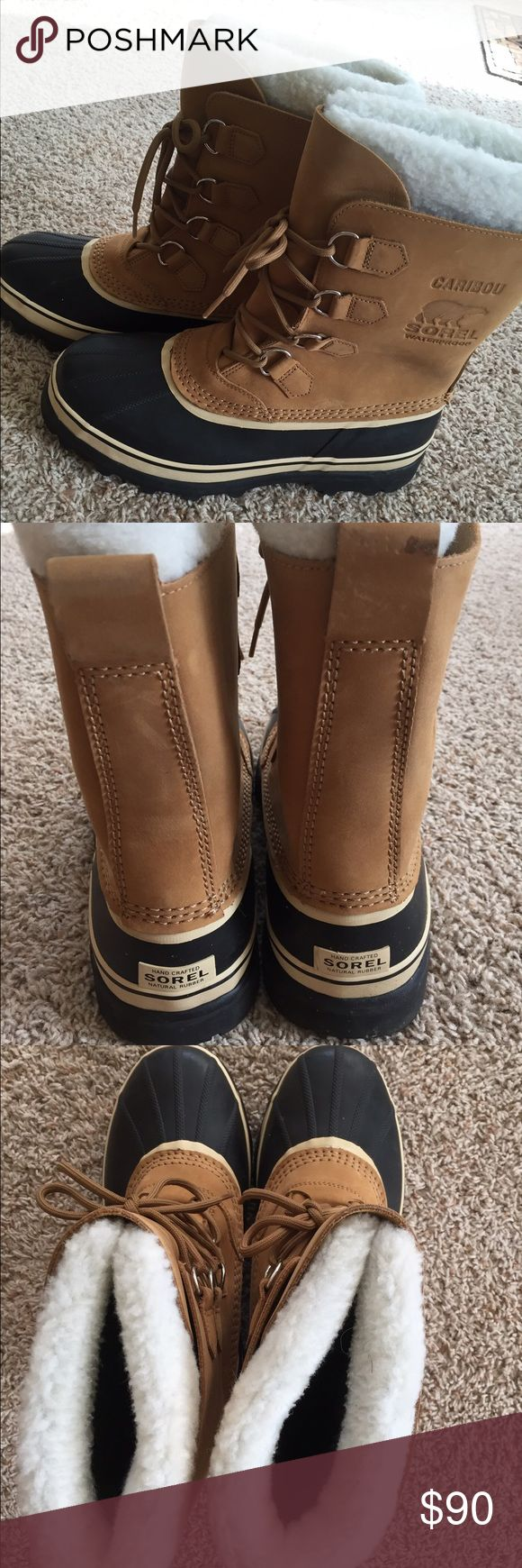Brand New Sorel Caribou Boots Received these as a present. They have never been worn! Super warm! Send me an offer! Sorel Shoes Winter & Rain Boots