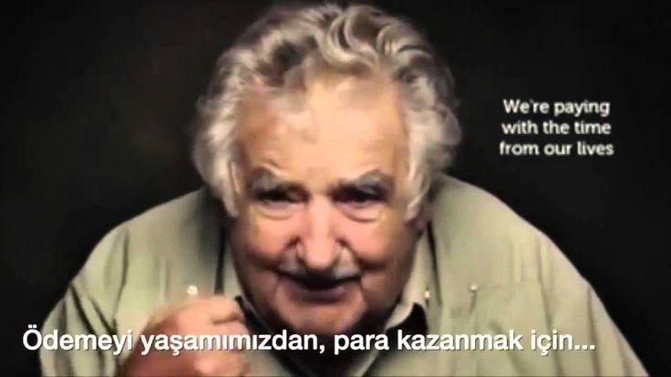 """""""Bir şey satın aldığımda ya da siz satın aldığınızda, ödemeyi parayla yapmıyoruz. Ödemeyi, yaşamımızdan para kazanmak için harcadığımız zamanla yapıyoruz."""" Uruguay Devlet Başkanı José Mujicadan Hayat Dersi - medyadeposu.com"""