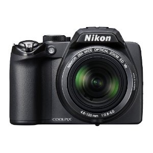 Nikon Coolpix P100 10 MP Digital Camera with 26x Optical Vibration Reduction (VR) Zoom and 3-Inch LCD (Black)