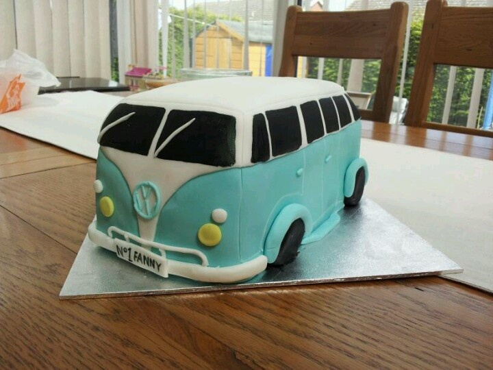 Vw van cake recipe