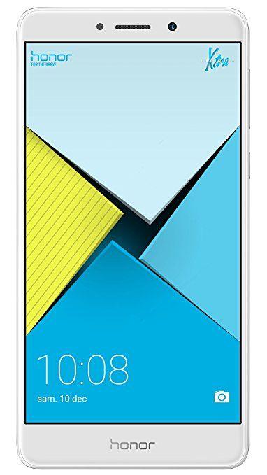 Honor 6X Smartphone 4G LTE, Diplay 5.5 pollici FHD, 32 GB ROM, 3 GB RAM, Dual Camera 12 Megapixel, Sensore Fingerprint, Android, Argento
