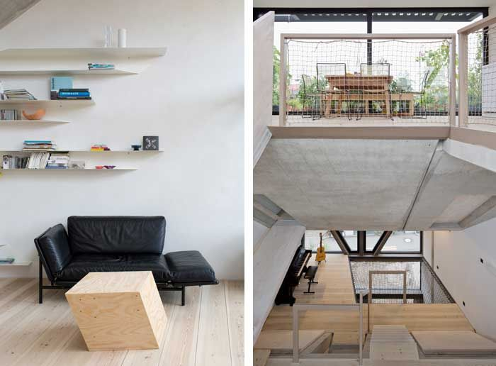 B14 townhouse Berlin by XTH-Berlin. Photos Andreas Meichsner.