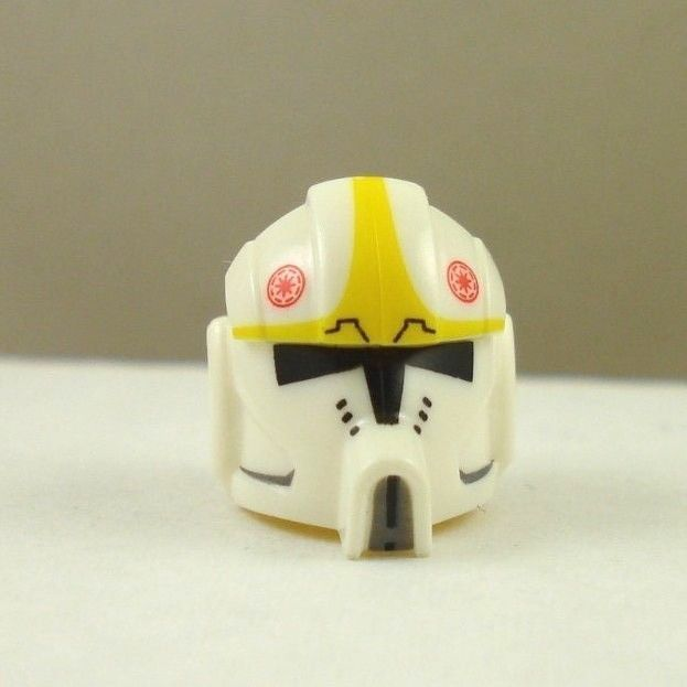 Lego Star Wars Custom Clone Trooper Pilot Helmet Printed