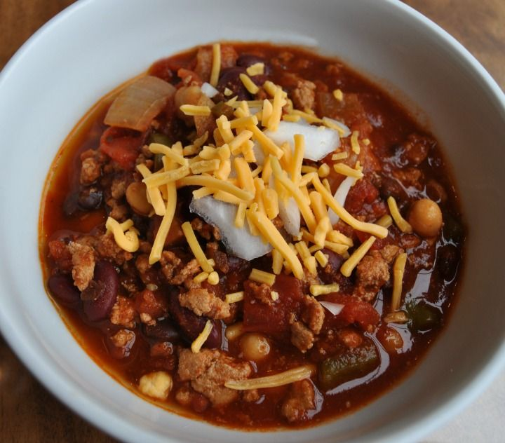 Healthy Crockpot Chili