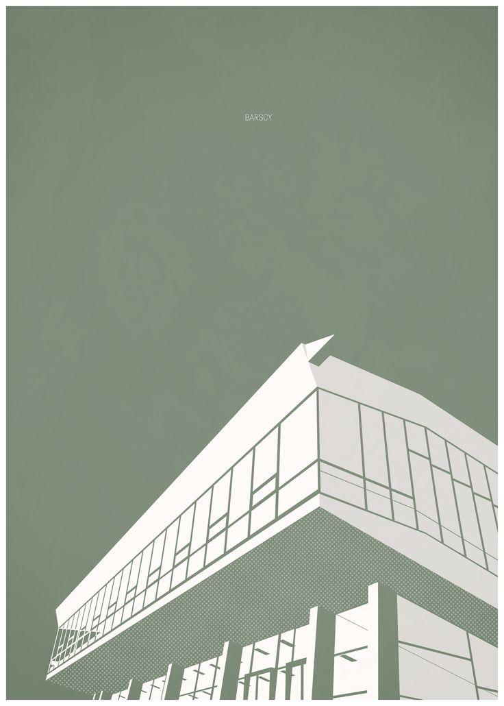 architecture poster by arch_it piotr zybura. Barski's auditorium in Wrocław (Poland) #architecture #architectural #poster #posters #art #arch_it #fibonacci #barski #wrocław #wroclaw