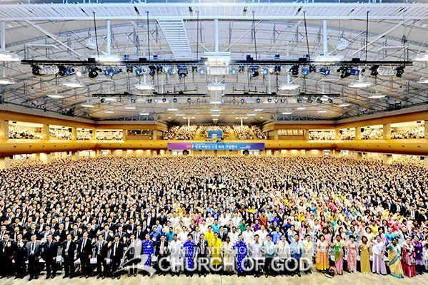 하피모는 수상하지 못할 영국 여왕상 수상한 하나님의교회 기념행사