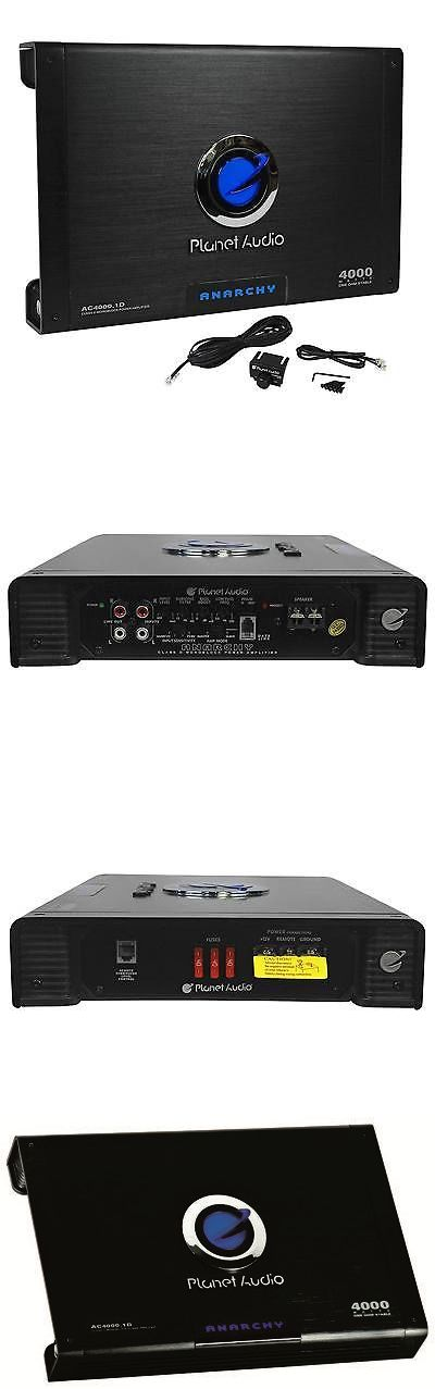 Car Amplifiers: New Planet Audio Ac4000.1D 4000 Watt Class D Mono Amplifier 1 Ohm Stable Car Amp -> BUY IT NOW ONLY: $118.95 on eBay!